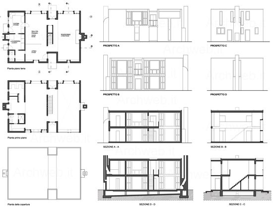 Alvar aalto house interior - Esherick House Kahn Houses Pinterest House Plans