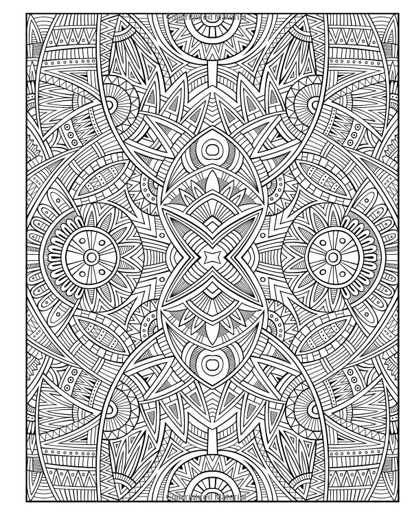 diabolically detailed colouring book volume 2 art filled fun colouring books - Detailed Coloring Pages 2