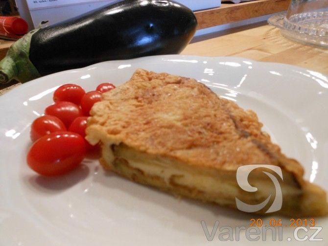 Recept Smažený lilek se sýrem - Smažený lilek se sýrem