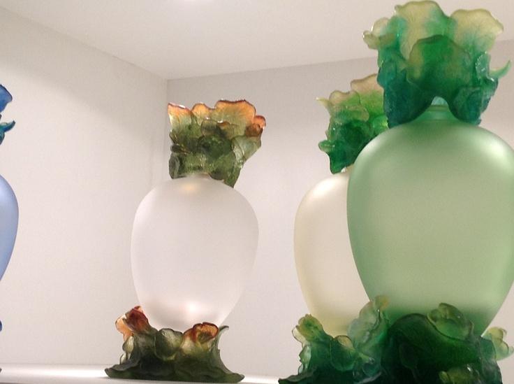 Lampe Centenaire - 1998  Daum  Création Régis Dho  Pâte de verre
