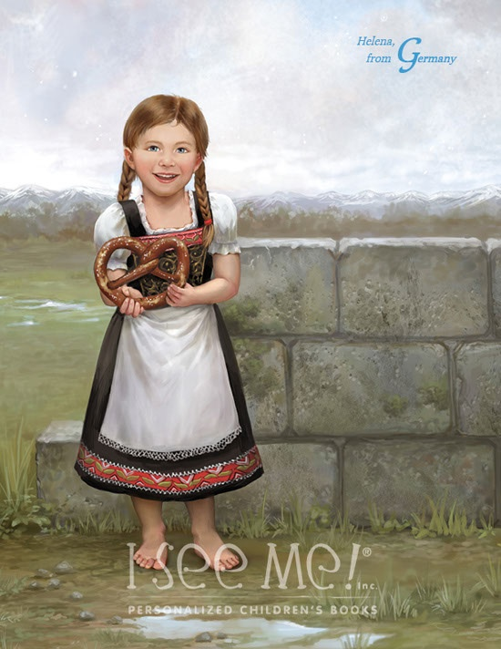 """Germany - As featured in """"My Very Own World Adventure"""" personalized children's book by I See Me!"""