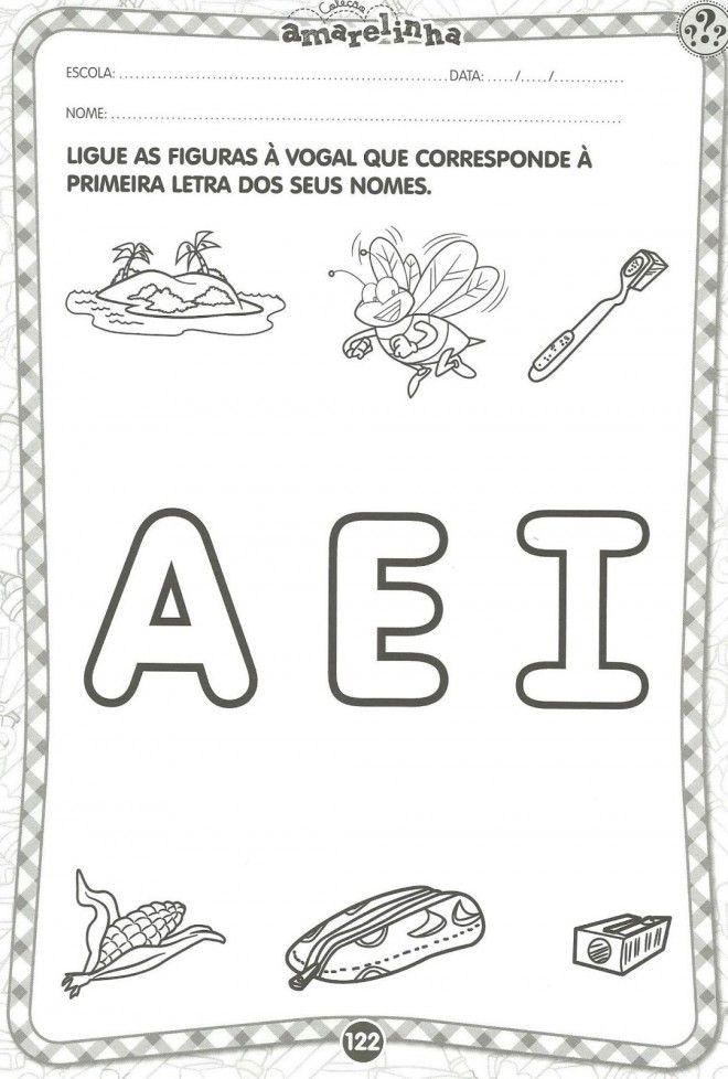 vogais atividades