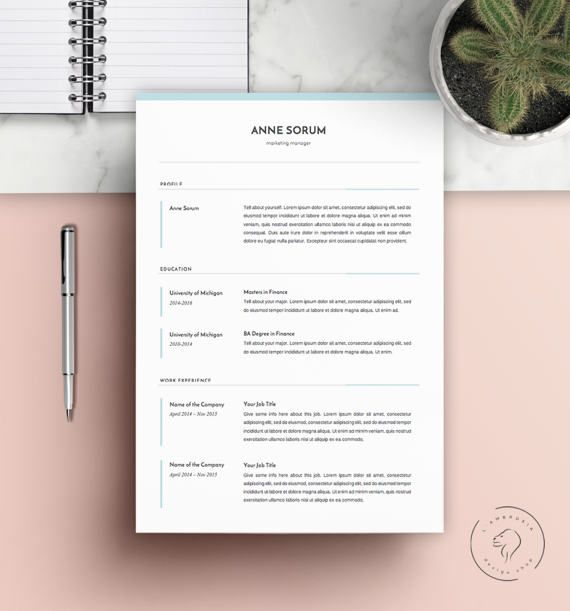 #Resume #Template   Downloadable #Resume #Template   With Promo Code!