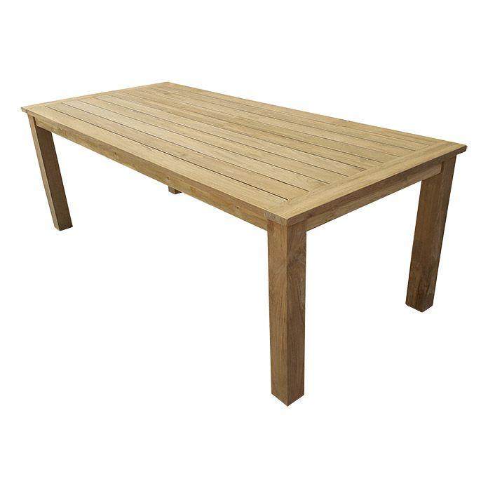 499 220x100 Sunfun Noemi Gartentisch Teak Tisch