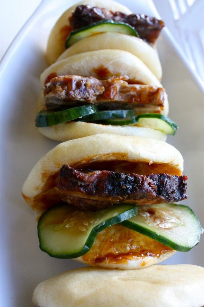Momofuku (David Chang) pork buns <3