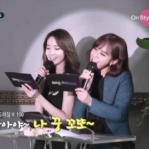 ユンユルの愛嬌可愛すぎる💕💕💕これはヤバい❤️😭😭本当双子みたいな息の合い方だ👏😂 #YoonYul #yoona #yuri #snsd #channelsnsd