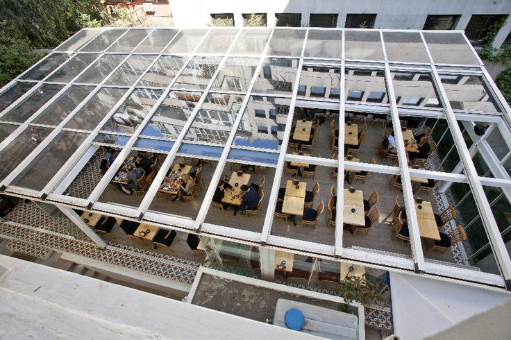 In System Skylights : Commercial restaurant enclosure retractable patio roof