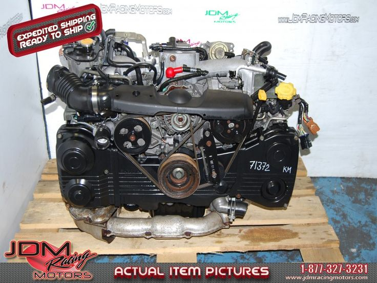 Used Subaru WRX 2002-2005 EJ205 Motor, Quad Cam AVCS 2.0L Engine.  Find this item on our website: https://www.jdmracingmotors.com/engine_details/2149  Tags: #jdm #jdmracingmotors #subaru #jdmsubaru #subaruwrx #wrxengine #ej20engine #ej205engine