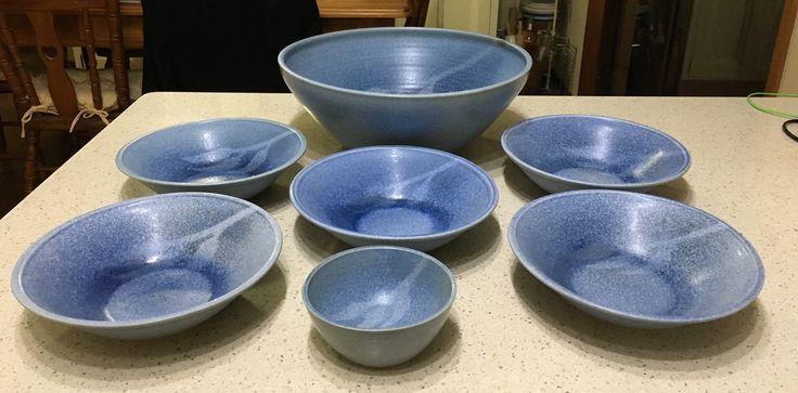 Shepherd Pottery Glenbrook NSW Pasta Bowl Set