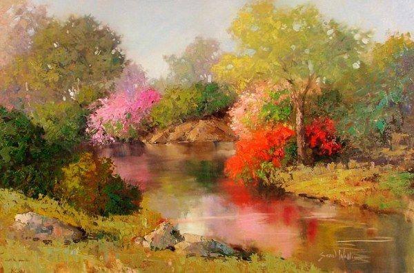 Дивные картины Шона Уоллиса (39 работ)
