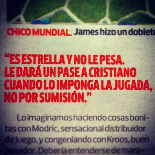 Jorge Barraza resume en palabras lo que puede ser James Rodríguez para el fútbol.
