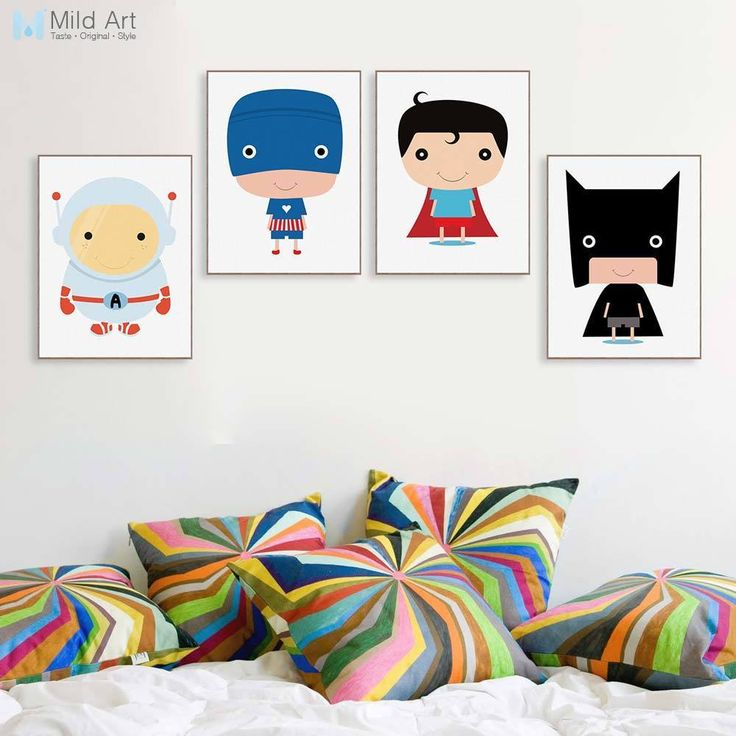 Here are ways to Original Price US $7.00 Discount 45% Cartoon Superhero Movie A4 Canvas Art Print Poster Batman Superman Captain Wall Picture Paintings Modern Kids Room Deco No Frame #Painting#Calligraphy