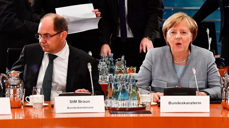 Nach Ja zu Glyphosat: Merkel wirft Landwirtschaftsminister Verstoß gegen Geschäftsordnung vor - kurier.at