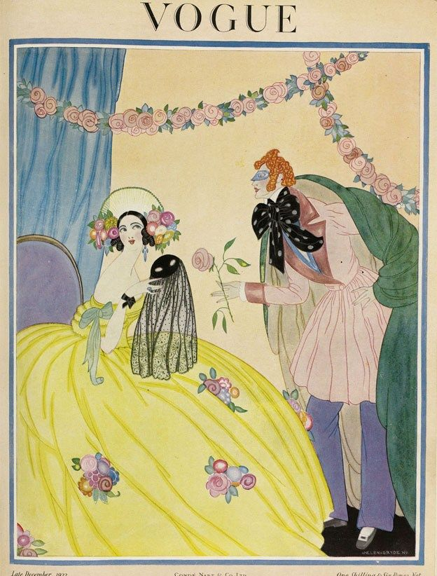 Vogue cover - December Late-1922