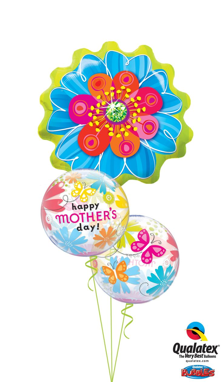 Mother's day helium filled balloon delivery UK Delivered