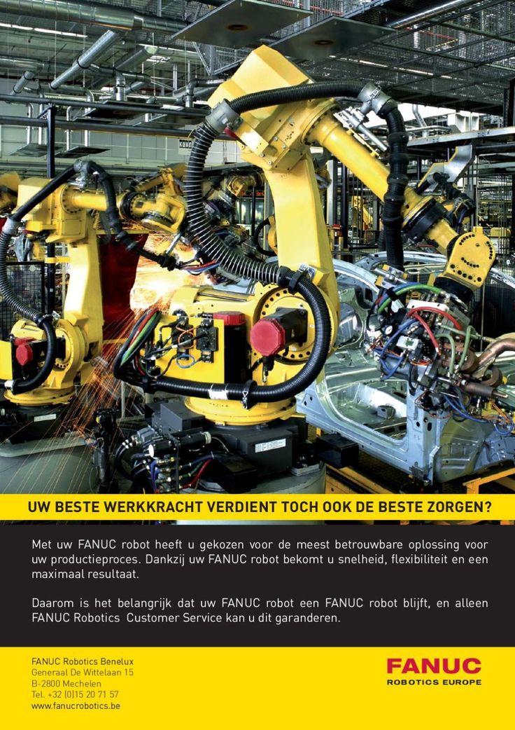 FANUC Robot - Dutch