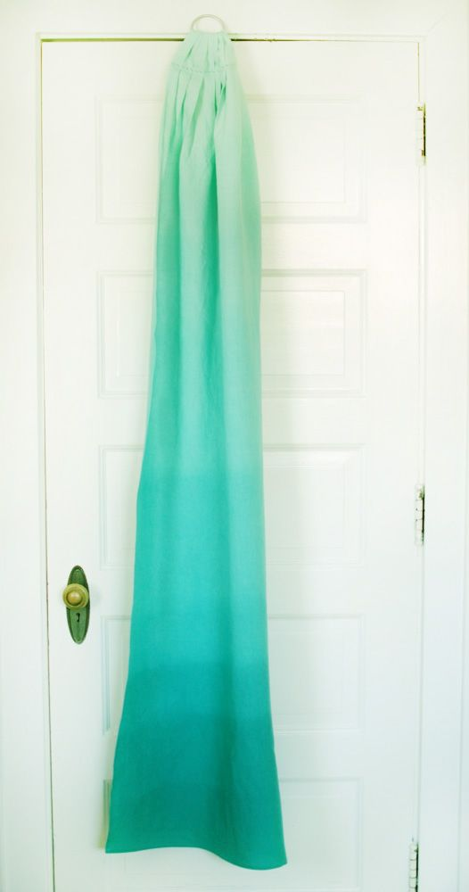 Stand and Deliver: Ombré dyeing tutorial: dip-dye. Maybe try this with my white ring sling?