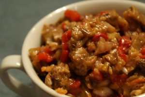 Shakshouky (Roasted Eggplant Salad)