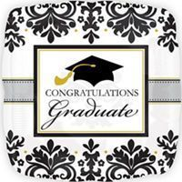 Black, gold and more Silver Graduation Decorations – Graduation Party – Party City – – #decoration