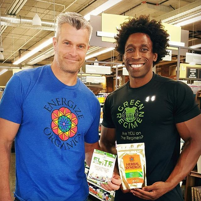 Had the pleasure of meeting Sam from @energizeorganics Talk about an incredible product. There is currently nothing like it on the market.  Reset your Adrenral System to an Optimal Level with #herbalsynergy ... Be Elite! ... Click on the link in the Bio to order Elite Protein or find it on Amazon.com #eliteprotein #greenregimen #vegan Vegan Recipes from BEAUT.e See more recipes >>