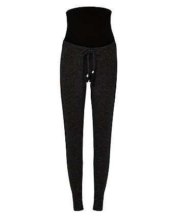 0588c9dde459f Order a charcoal over-the-bump brushed joggers today from Mothercare.com.  Delivery free on all UK orders over £50.