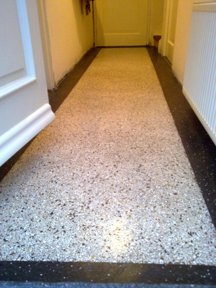 Terazzo floor