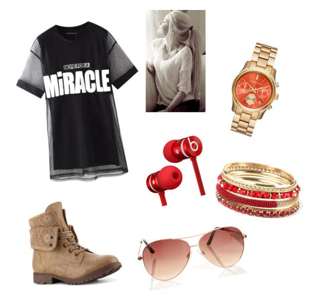 """""""Casual"""" by shaye1z ❤ liked on Polyvore featuring Chicnova Fashion and Beats by Dr. Dre"""