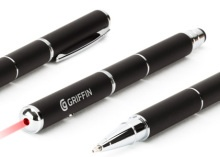 Griffin crams laser pointer and pen into a stylus via @CNET