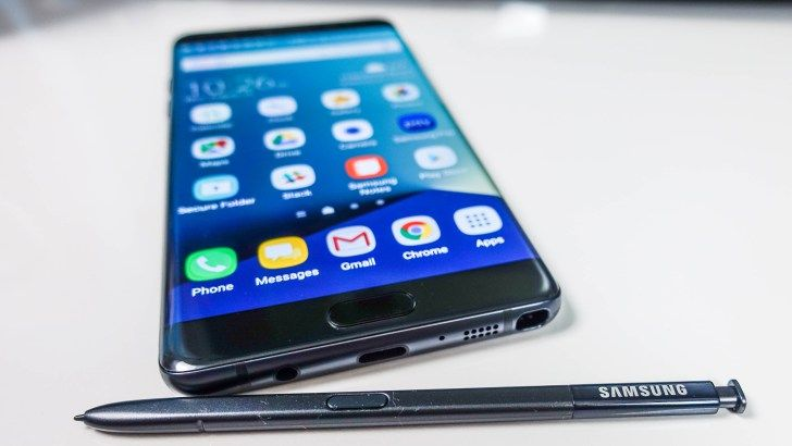 The Galaxy Note 8 could already be in the works