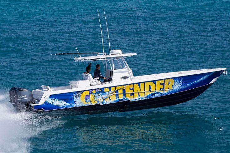 Contender 39 st deep sea ocean fishing boat fishing for Deep sea fishing boat for sale