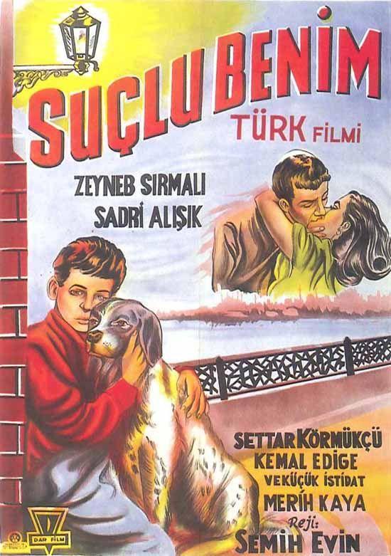 Türk Nostalji - Fotogaleri - Suçlu Benim (1953) filminin afişi