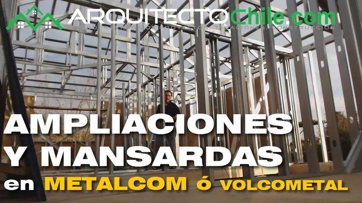 Ampliaciones  de Casas usando Tabiqueria de Metalcon o Volcometal