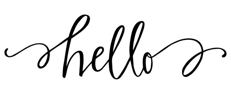 Letterpress Plate : Hello by Lindsay Letters