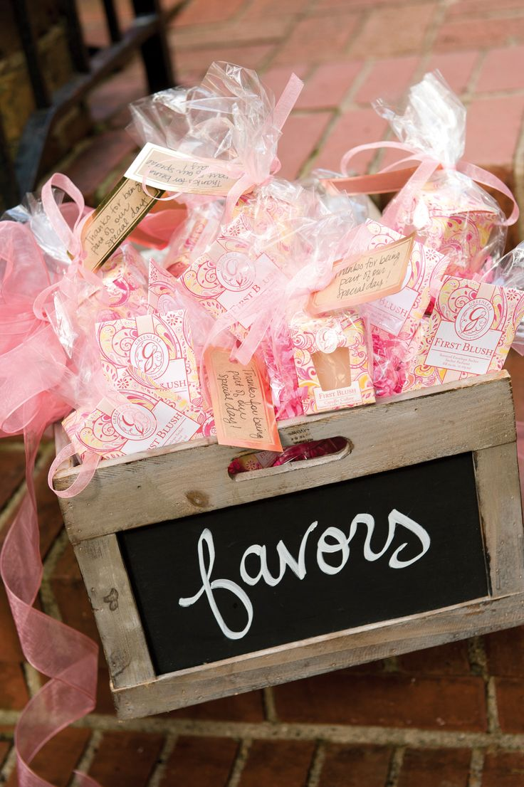 Use #90 - Give sachets as wedding and shower favors.