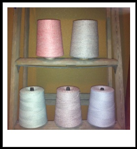Where it all began...the original baker's twine.  Never worry about how much twine you use again. We have the pink bakery boxes too! Jilly Bean Kids