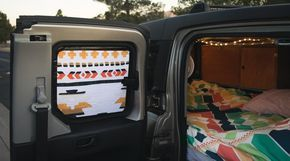 How to Make Beautiful Blackout Window Shades for a Camper Van (or Honda Element)