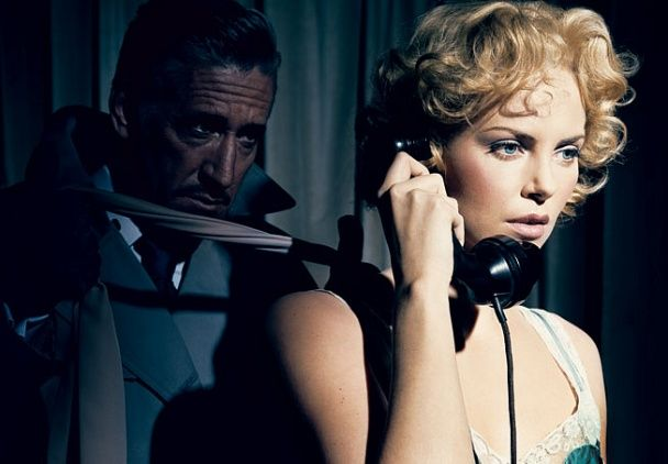 Dial M for Murder, 1954  Charlize Theron. Photograph by Norman Jean Roy.: Charlize Theron, Murder, Vanities Fair, Vanity Fair, Charlizetheron, Jeans, Grace Kelly, Alfred Hitchcock, Vanityfair