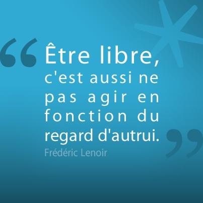 La citation de la semaine, signée Frédéric Lenoir