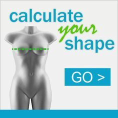 Body Shape Calculator There are 8 female body shapes, calculate yours now with the original 3-measurement body type calculator! Don't know your measurements? Visit our Body Shape GuideBloggers, web masters and fashionistas, get this body shape calculator for your website or blog! Click
