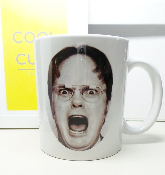 Dwight Schrute Mug by coolcupsuk on Etsy
