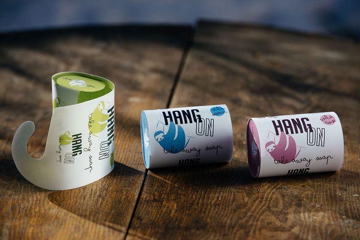 Hang On - take away soap on Behance