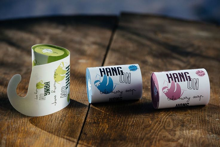 Hang On - take away soap on Behance