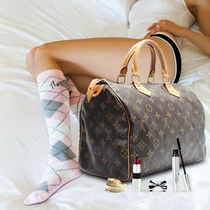 Enter to win a classic Louis Vuitton bag filled with makeup, accessories and intimates matched to your style!