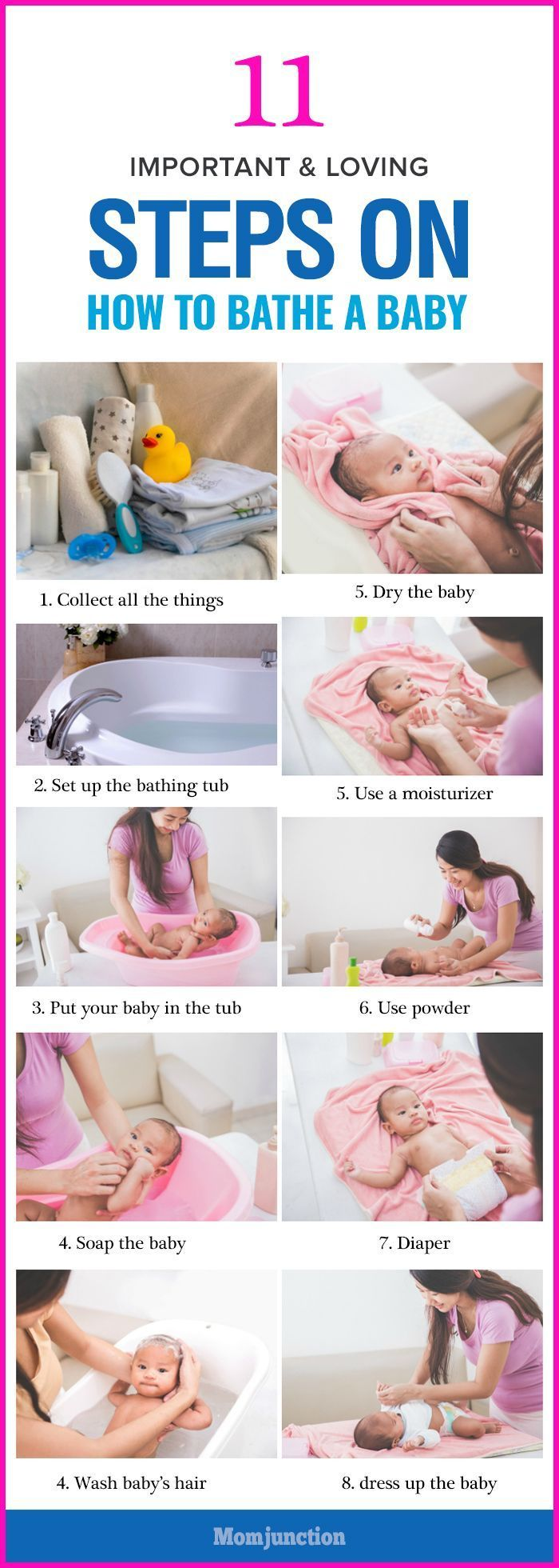 Baby bath can be exciting and stressful at the same time. But, relax here's a step-by-step guide on how to bathe a baby and how often.