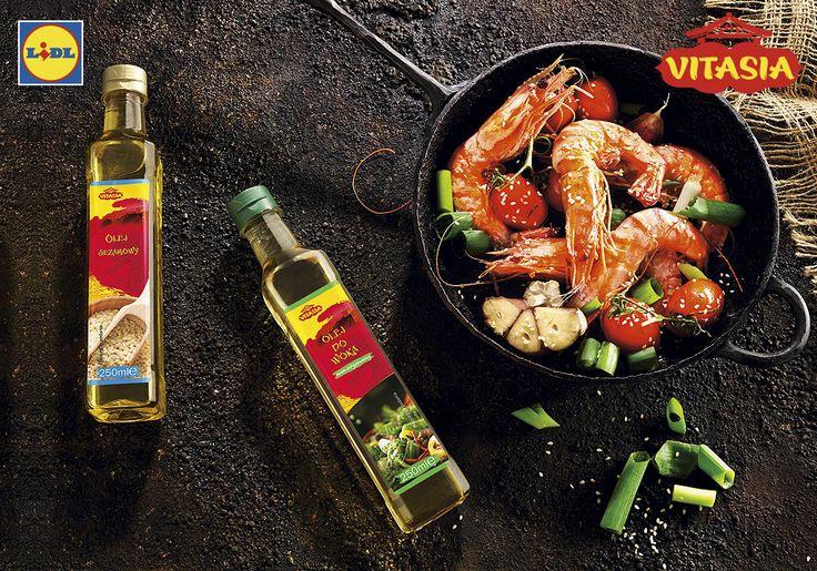 Oleje azjatyckie #lidl #olej #vitasia #azja