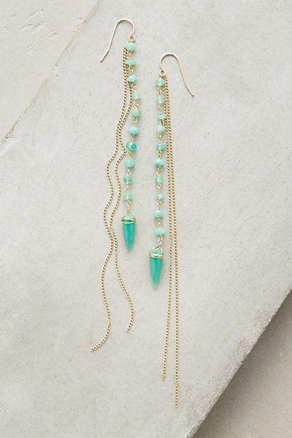 Hamoa Duster Earrings #anthropologie, love these!!!