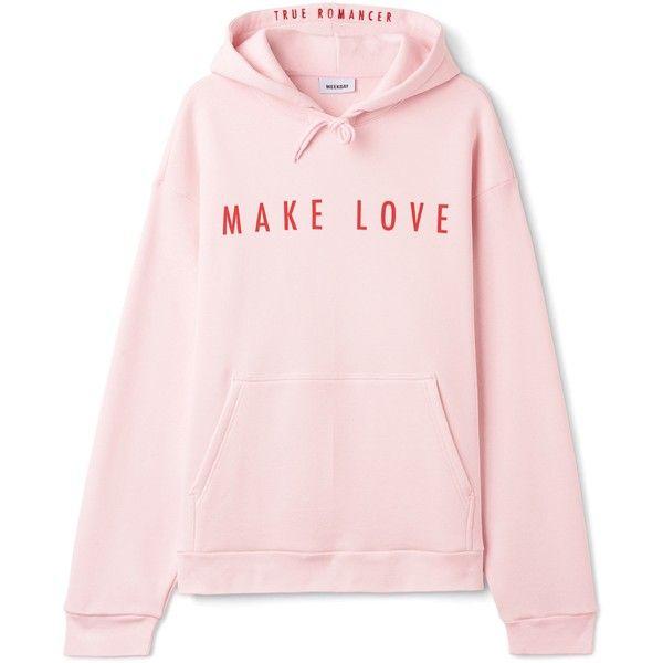 Big Hawk Printed Hoodie ($47) ❤ liked on Polyvore featuring tops, hoodies, print hoodie, sweatshirt hoodies, drawstring hoodie, pattern hoodie and pink oversized hoodie