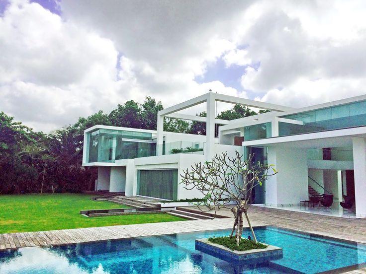 Villa ombak biru 6 bedrooms beachfront villa bali for 6 bedroom villa seminyak