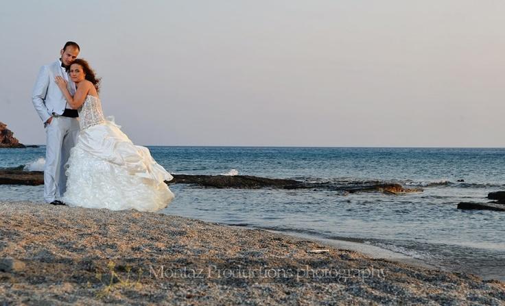 Φωτογραφίες γάμου επόμενης μέρας σε παραλία!