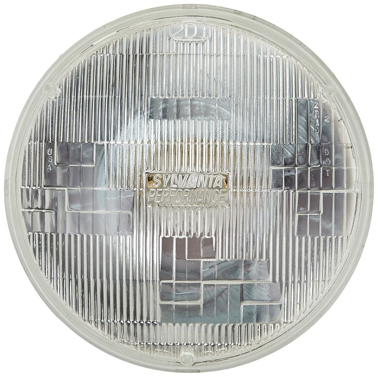 "Amazon.com: SYLVANIA H6024 SilverStar High Performance Halogen Sealed Beam Headlight (7"" Round) PAR56, (Contains 1 Bulb): Automotive"